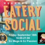 SOCIAL FRIDAY at Eatery!